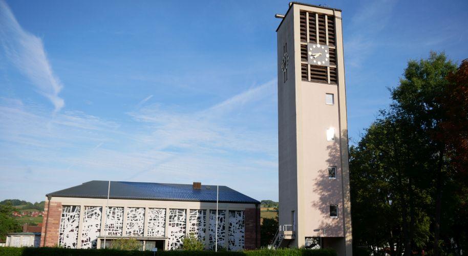 Neue Kirche St. Wendelin Straßbessenbach