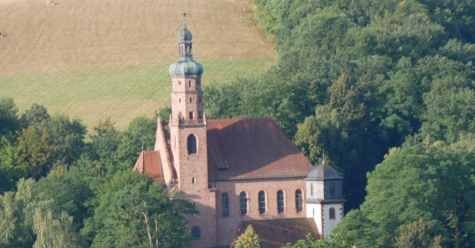 Ottilienkapelle und Kirche St. Stephanus in Oberbessenbach