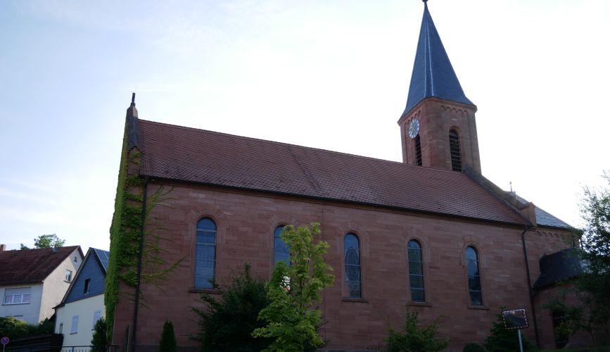 Alte Kirche St. Wendelin in Straßbessenbach